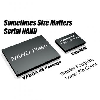 Winbond Serial NAND Flash semiconductor