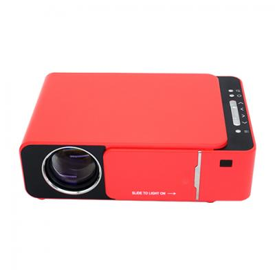130ANSI HD theater home projector Multi-Media/Same Screen/Android 1+8G Bluetooth red color