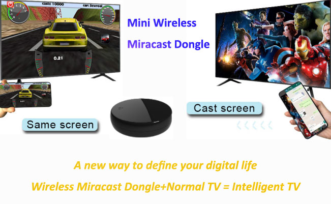 New Arrival: Wireless Display Receiver/Dongle, a New Way To Define Your Digital Life
